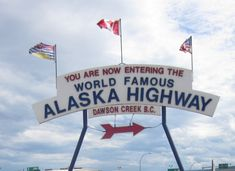 travel board, alaskan highway, famous alaska, alaska highway