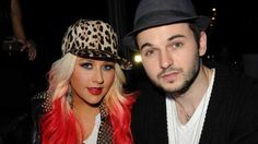 Christina Aguilera, Matt Rutler, 2012 -- Getty Images