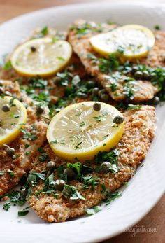 One of my favorite ways to eat flounder! Perfect for Lent