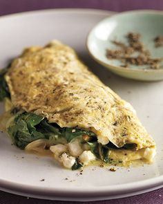 Greens and Herb Omelet | Whole Living
