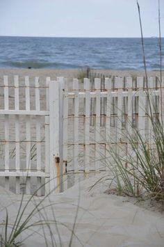 . white picket fences, beaches, dream, the view, coslick cottag, beach houses, at the beach, sea, backyard