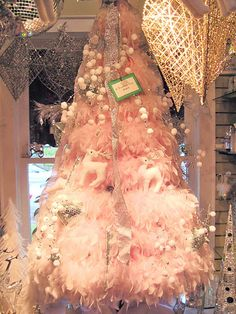 pink feather tree...love it!