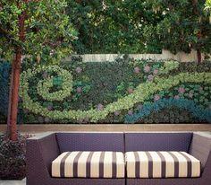 Bright Green Living Wall Gallery -- Grovert