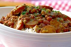 New Orleans-Style Red Beans and Rice with Sausage Fulcher Recipe