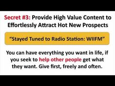 Online MLM Marketing System - YouTube
