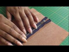 Sewing an Exposed Zipper