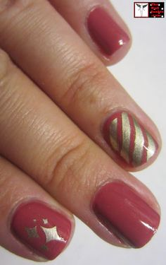 """The Nail Junkie: Essie """"All Tied Up"""" + Stamping ="""