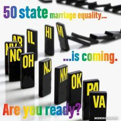 50 State Marriage Equality!