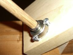 Bearing Closeup | Upcycled kick spindle