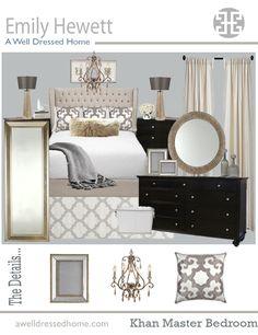 Khan Master Bedroom Online Design