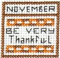 Free Fall and Thanksgiving Cross Stitch Patterns