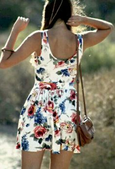 Cute summer dress. Why can't summer be here already?!
