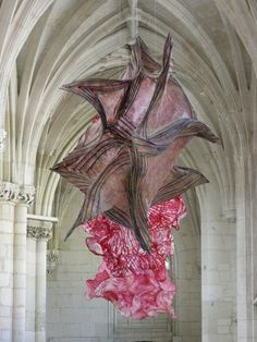 Peter Gentenaar - paper sculpture installation