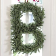 DIY Faux Boxwood Letter How To