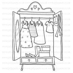 Wardrobe clipart  Wardrobe Clipart