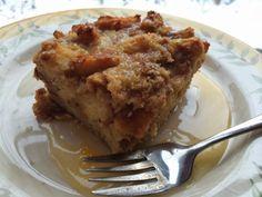 A Couple in the Kitchen: Cinnamon Swirl Bread Pudding