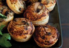 Mushroom, Rosemary, and Goat Cheese Tartlets | Vegetarian Times