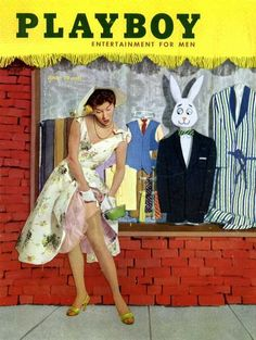 Playboy magazine cover June 1955