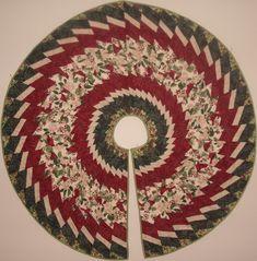 Tree Skirt using wedge ruler