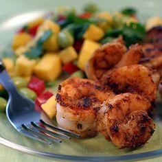 edamame mango succotash shrimp recipe spicy cajun cajun shrimp edamame ...