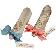 Cinderella Slipper Favor, Idea for Stand in Holy Places YW theme.
