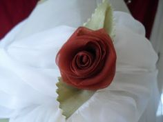 How to make a fabric rose...