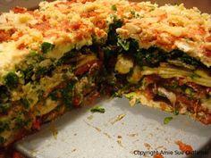 Living Lasagna #raw #vegan