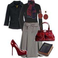 Classy fall/winter work wear