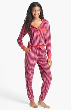 One piece PJ's - So hard to find them without footsies