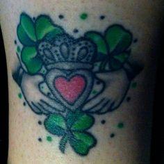 My claddagh tattoo