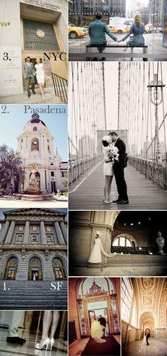 Beautiful City Hall Weddings