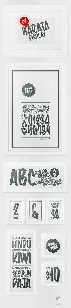 Barata Display Free Font