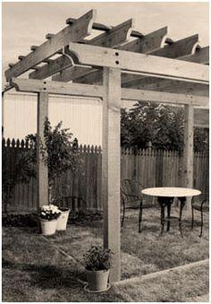 13 Free DIY Backyard Project Plans from Popular Mechanics Magazine