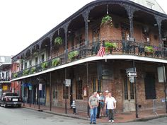 Lots of wrought iron in New Orleans architecture