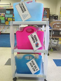 Great math station ideas!