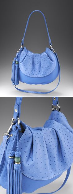 Pretty Periwinkle Blue Purse / Satchel