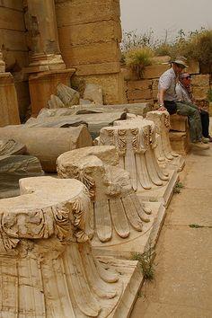 Leptis Magna, Libya, Northern Africa