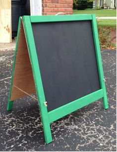 Folding Chalkboard | Do It Yourself Home Projects from Ana White