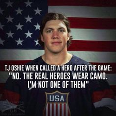 We want to give TJ Oshie a big oorah!! Let's see how much love our #milFams can give #TJOshie. #sochi2014 #olympics - MilitaryAvenue.com