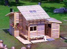 Recycled Pallet House – Disaster Relief Housing | greenUPGRADER