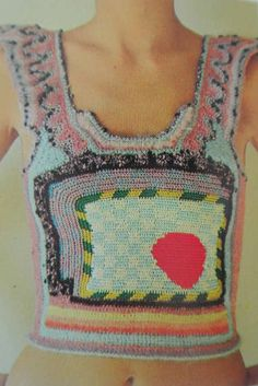 Dina Schwartz, Clam Shell Top, Creative Crochet