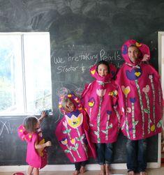DIY family matryoshka doll costumes