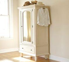 For linen storage