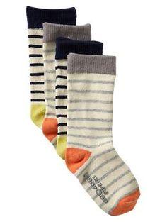 Colored striped socks (2-pack) | Gap