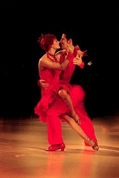 Passion of ballroom dance