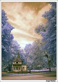 La casa encantada del bosque  Parque del Retiro Madrid - Spain