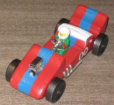 more pine wood derby ideas