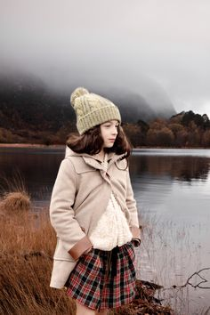 """Fashion story """"Highlands"""" MilK 38, shot by Karel Balas. Style : Isis-Colombe Combréas."""