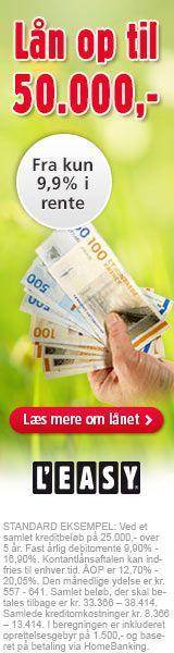 Lån penge uden at stil sikkerhed, vælg et af de billige forbrugslån - Find forbrugslån på Pengepungen.dk