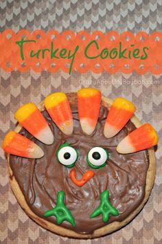 Iced Turkey Sugar Cookies 680x1024 Iced Turkey Cookies | Thanksgiving Treats for Kids